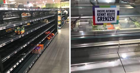 etagere edeka mercado remove produtos estrangeiros em canha contra