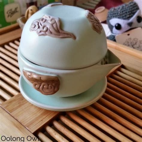 My Tea Oolong Pet 450ml yet again oolong owl bought another ru kiln gaiwan and