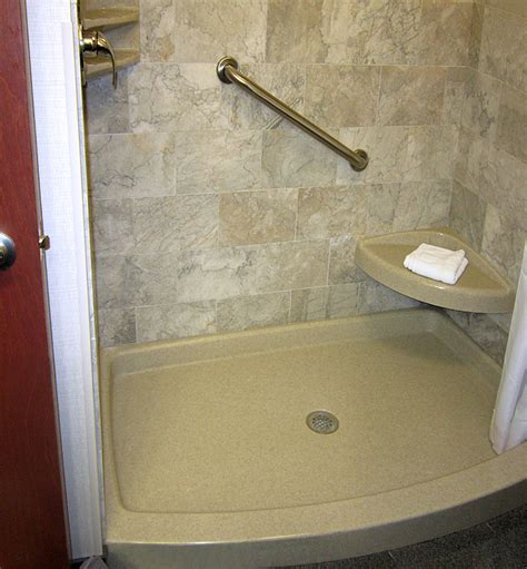 Onyx Collection Shower Base by Standard Showers