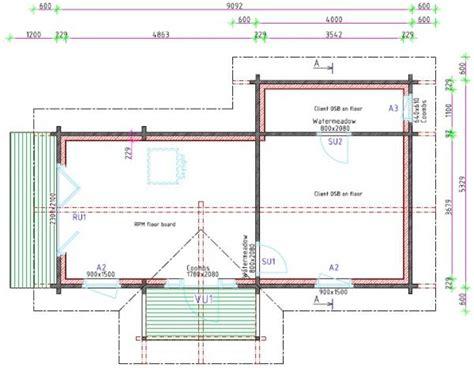 Granny Annex And Retirement Log Homes Floor Plans For Annex