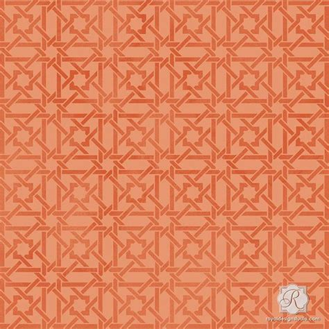 fabric pattern stencils ideas camel bone weave craft stencils for painting small