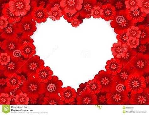 imagenes flores en forma de corazon flores en forma de coraz 243 n ilustraci 243 n del vector