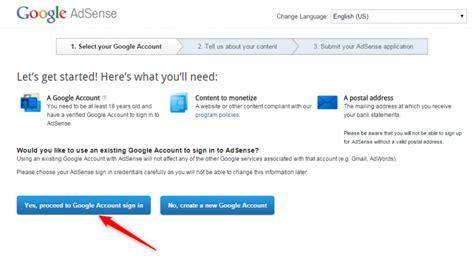 tutorial daftar google adsense cara daftar google adsense agar mudah diterima blog
