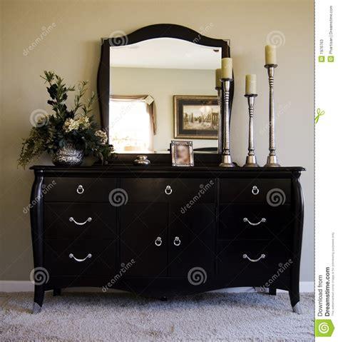 bedroom dresser mirror bedroom with mirror on dresser stock image image of rich decorative 1976763