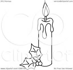 Baptismal Candle Outline by Pin Baptism Candle Clipart On