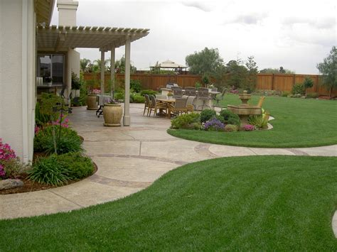 idea for backyard landscaping a look at some backyard landscaping ideas backyard