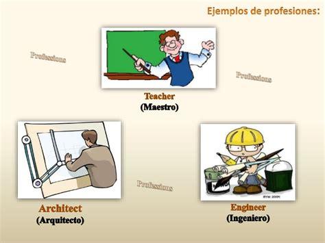imagenes en ingles de oficios presentacion sobre profesiones y ocupaciones en ingles