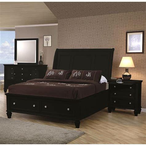 boys black bedroom furniture sandy beach storage bedroom set black coaster furniture