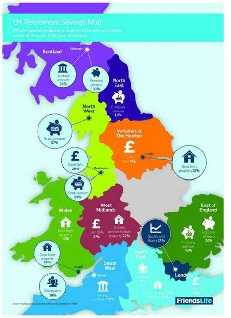 supplement retirement income uk retirement savings map reveals retirement savings