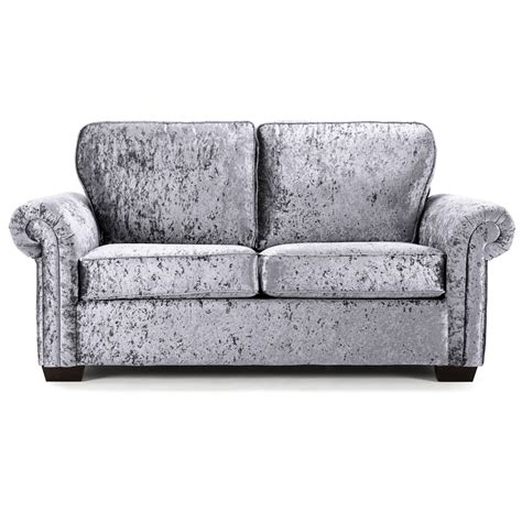 Velvet Sofa Bed by Geoffrey Velvet Sofa Bed Silver Achica