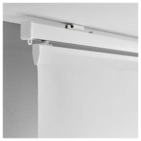 ikea curtain rail vidga ceiling fitting white ikea