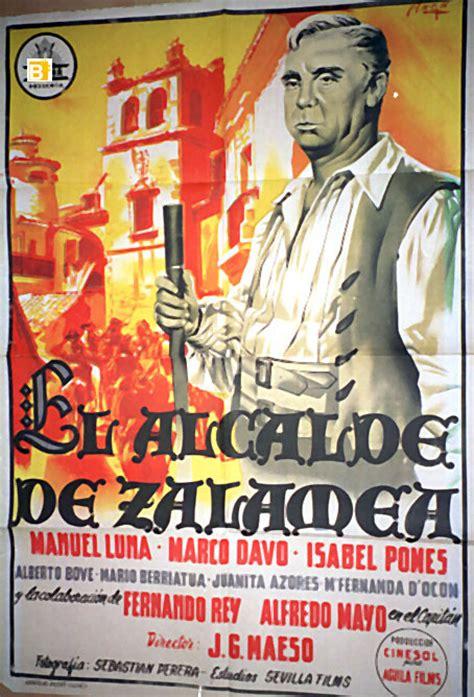 el alcalde de zalamea 8437601215 quot isabel pomes quot movie poster quot el alcalde de zalamea quot movie poster
