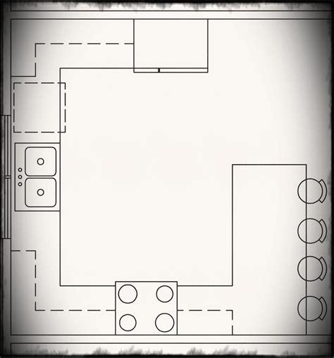 basic physical layout of kitchen u shaped kitchens hgtv chiefs kitchen zone