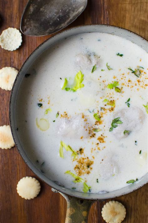 classic oyster stew dixie s classic oyster stew garlic zest