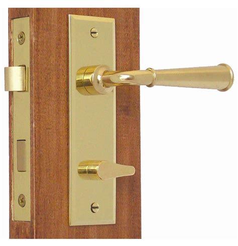 Screen Door Knob by Accurate Screen Door Privacy Latch Set Solid Brass Lever