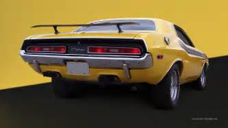 Chrysler Dodge Challenger 1971 Dodge Challenger Wallpaper 312240