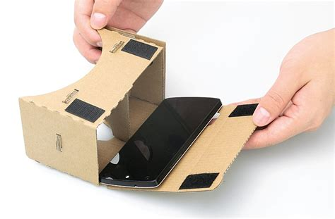 Vr Cardboard diy cardboard vr mobile phone 3d glasses
