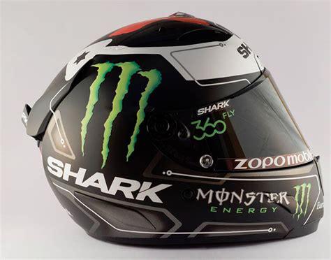 desain helm terbaru begini gan desain corak helm shark jorge lorenzo terbaru