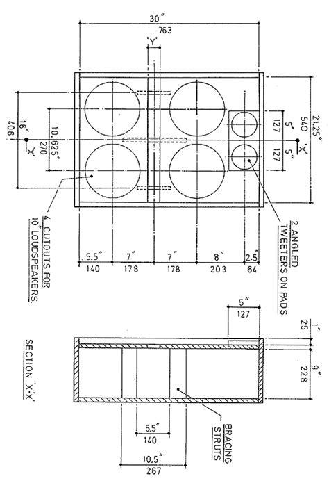 guitar speaker cabinet plans 4 215 12 woodideas