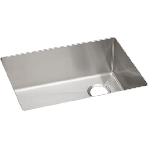 elkay undermount stainless steel kitchen sink elkay ectru24179r crosstown stainless steel single bowl