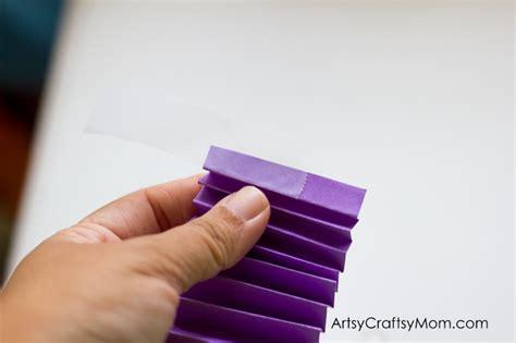 Folding Paper Accordion Style - accordion fold diwali paper diya craft artsy craftsy