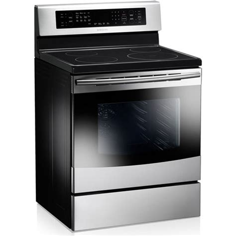 Oven With Cooktop Samsung Ne595n0pbsr Stainless Steel 30 Quot Smoothtop