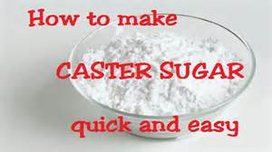 how to make superfine caster sugar quick and easy homemade youtube
