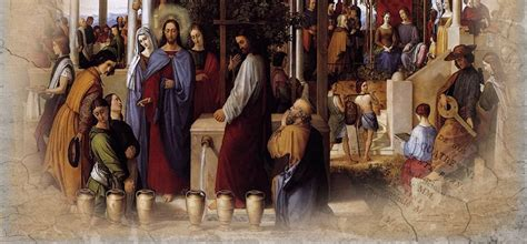 Wedding Feast Cana Catholic Commentary by Day 294 The Wedding Feast Of Cana