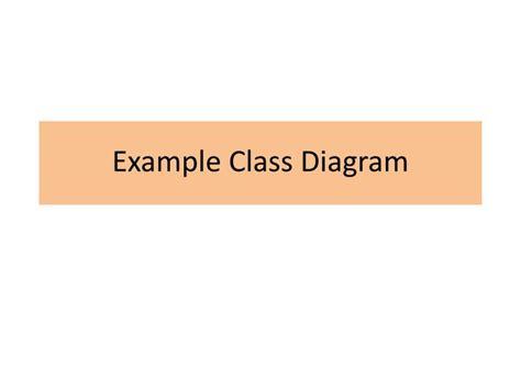 class diagram ppt presentation ppt exle class diagram powerpoint presentation id