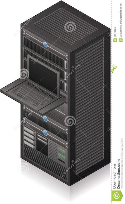 Server Rack Hardware by Server Rack Stock Photo Image 18228960