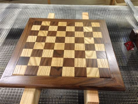 chess board design hand crafted heirloom walnut oak chess board by longhorn