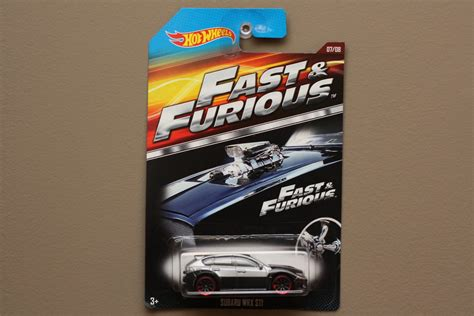 Hotwheels Fast And Furious wheels 2015 fast furious subaru wrx sti