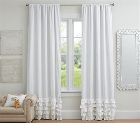 white ruffled curtains for nursery ruffled curtains pink simple pastel ruffle curtain panels for nursery with ruffled curtains