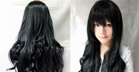 Rambut Palsu Wanita hukum laki laki dan perempuan yang memakai rambut palsu