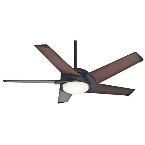 54 casablanca stealth ceiling fan shop casablanca stealth dc 54 in maiden bronze downrod or