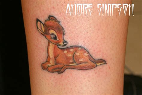 fawn tattoo animal fawn tattooshunt