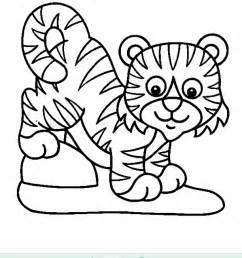 baby tiger coloring free coloring pages art coloring pages