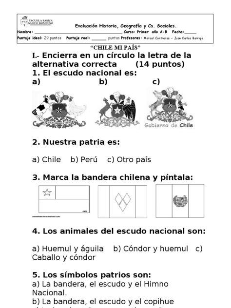 preguntas de geografia para primaria resultado de imagen para prueba historia y geografia