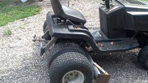 ultimate lawn tractor dually homemade box type scrape