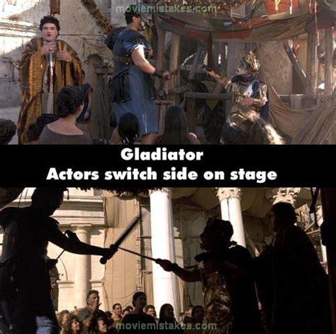 gladiator film trivia gladiator movie mistake picture 9
