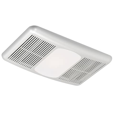 bathroom fan with heater and light shop harbor breeze 1 300 watt bathroom heater at lowes com