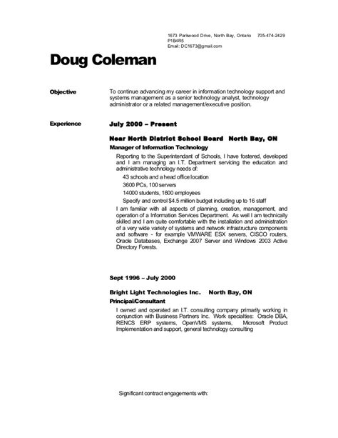 resume sles references dougs resume no references
