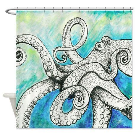 octopus themed bathroom 1000 ideas about octopus shower curtains on pinterest