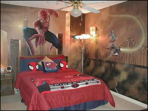 boys spiderman bedroom ideas decorating theme bedrooms maries manor spiderman