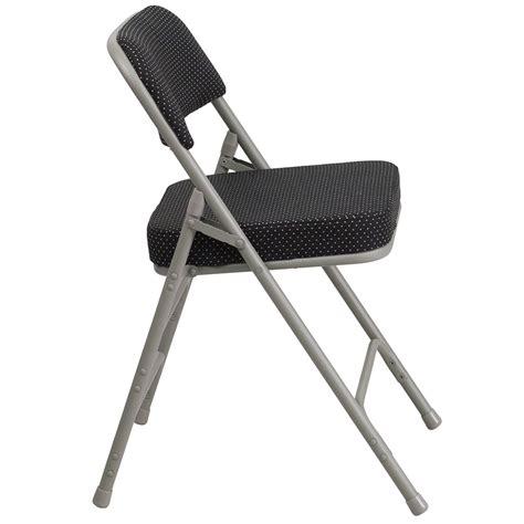 custom fabric folding chairs hercules series premium curved braced