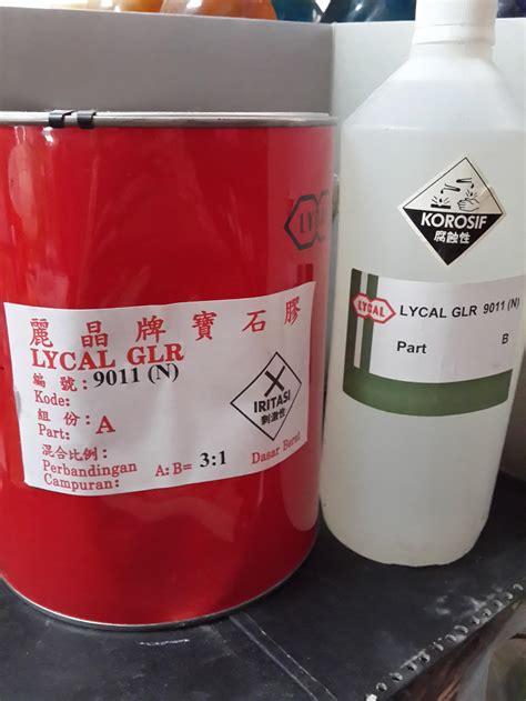 Jual Resin Lycal 1011 jual lycal bening epoxy harga murah surabaya oleh pt
