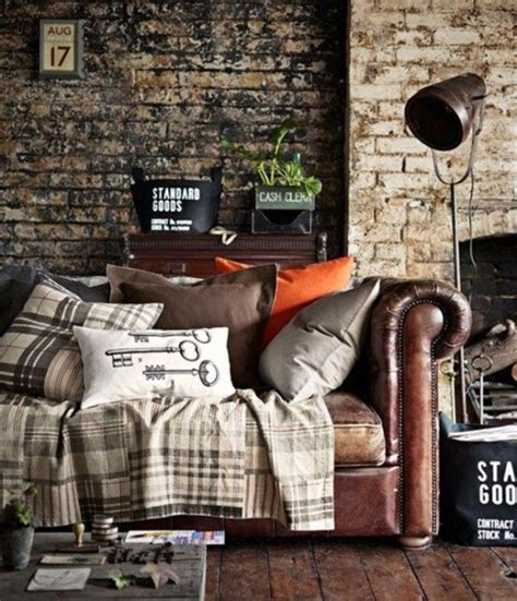 Industrial Rustic Living Room by 15 Stunning Industrial Living Room Designs Rilane
