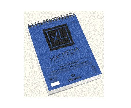 Canson Mixmedia Pad A4 Xl Mix Media Pa canson xl spiral mix media pads artistmaterial