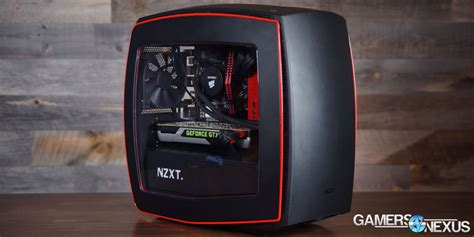 best mini atx nzxt manta mini itx review benchmark gamersnexus