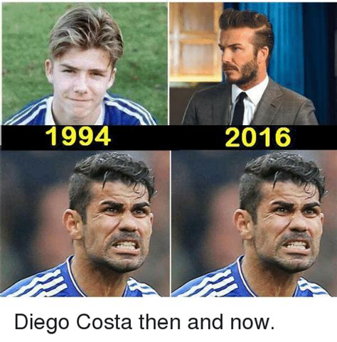 Diego Costa Meme - 1994 2016 diego costa then and now diego costa meme on